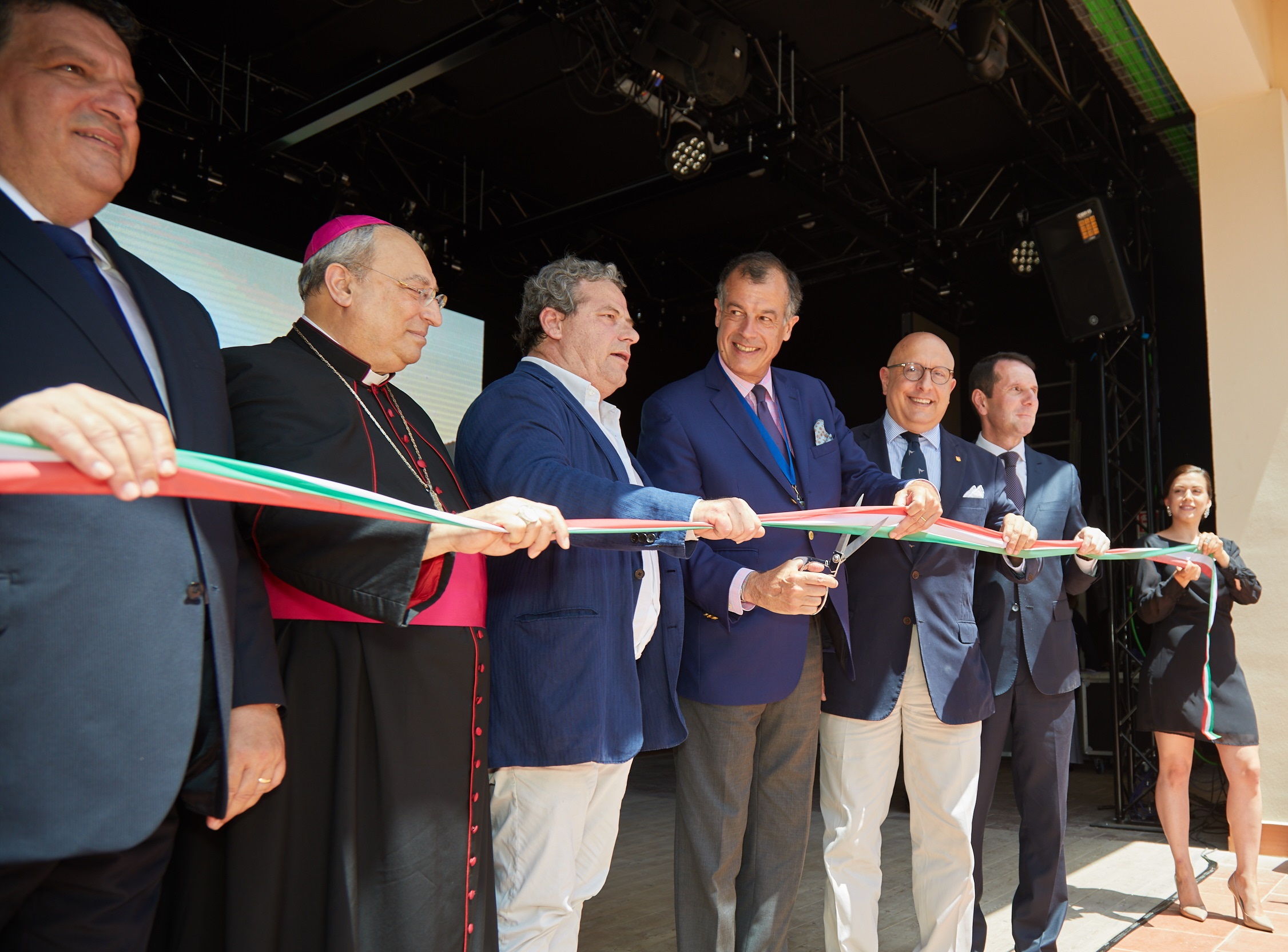 Inauguration Club Med Cefalù